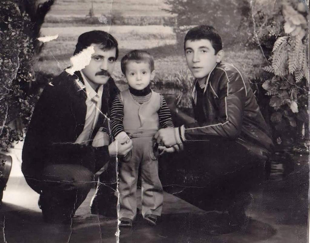 Necmi-Serkan ve Şenol Banzaroğlu. 1984 yılında of'ta çekildi