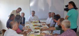 Başkan Sarıalioğlu, Sanayi Esnafını Dinledi…